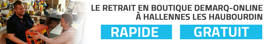 Retrait Demarq Hallennes Les Haubourdin
